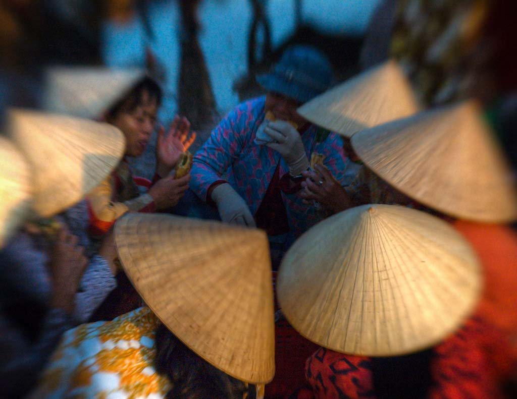 Conical Straw made hat buy as a souvenir on holiday to vietnam