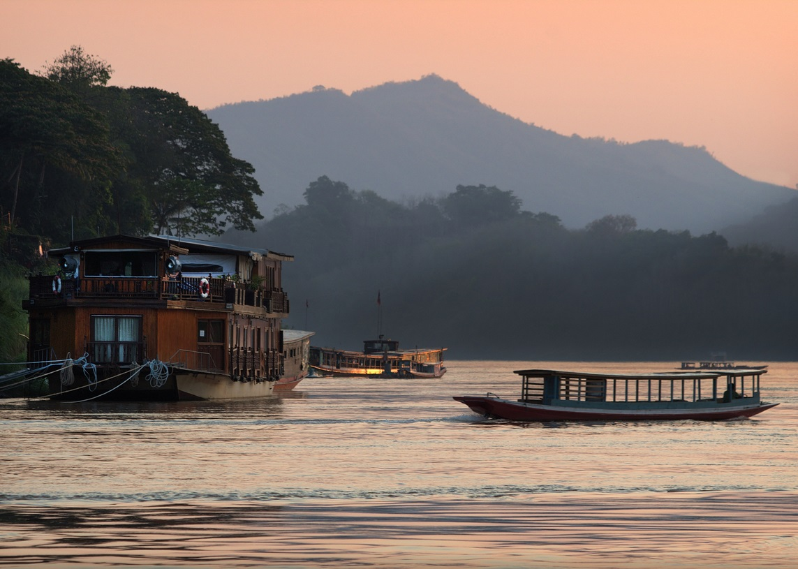 Mekong River on your Luxury Laos Tour Packages