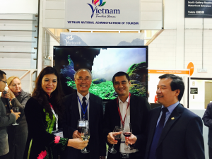 Luxury Travel at VNAT booth at WTM