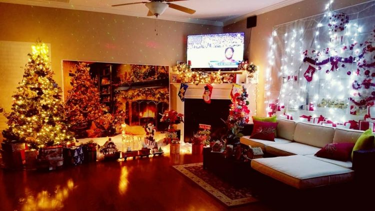 Vietnamese people decorate their home for Christmas Celebration