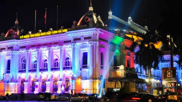 Hanoi Opera House - BEST PLACES TO SPEND CHRISTMAS IN VIETNAM