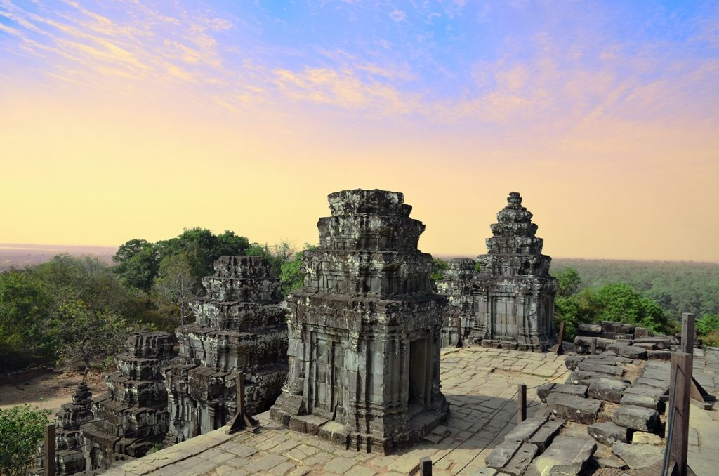 Cambodia Siem Reap Phnom Bakheng