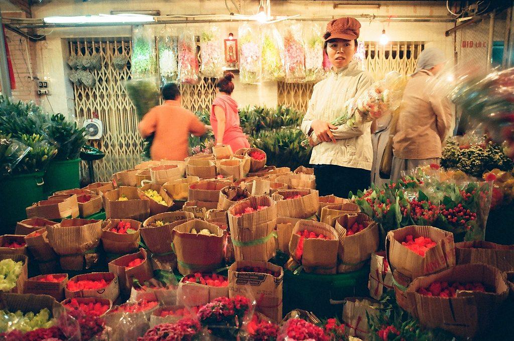 Flower market - Saigon market