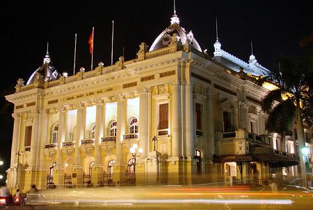 Hanoi Opera House - Hanoi nightlife