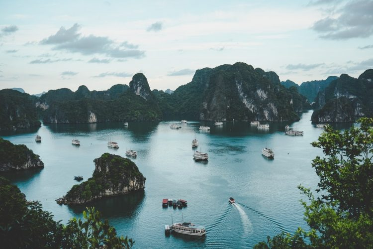 Van Don Island - destination for Halong Bay Tour