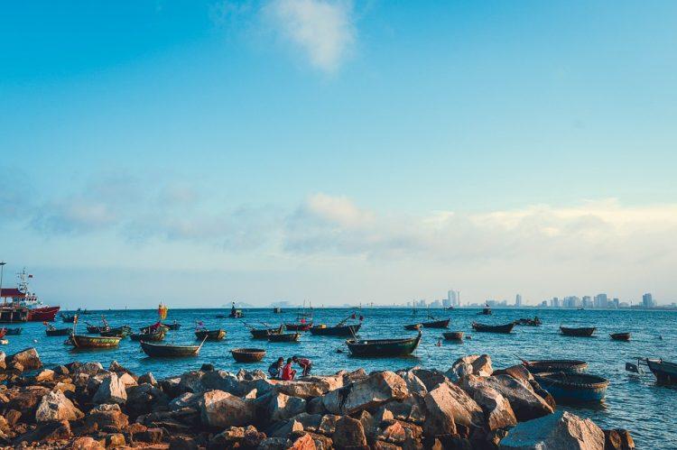 my khe beach in danang - most beautiful beaches in vietnam