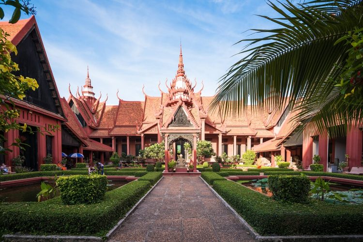 National Museum in Phnom Penh - vietnam cambodia itinerary 3 weeks