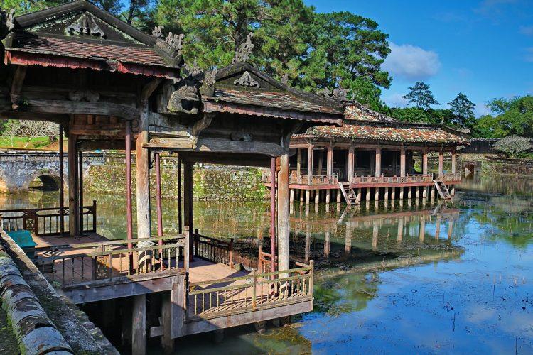 Tu Duc Tomb, Hue - vietnam cambodia itinerary 3 weeks