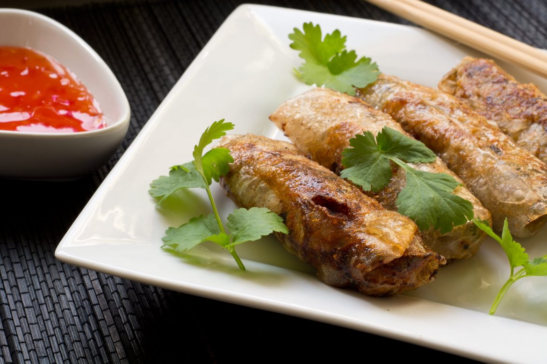nem spring roll vietnamese cuisine