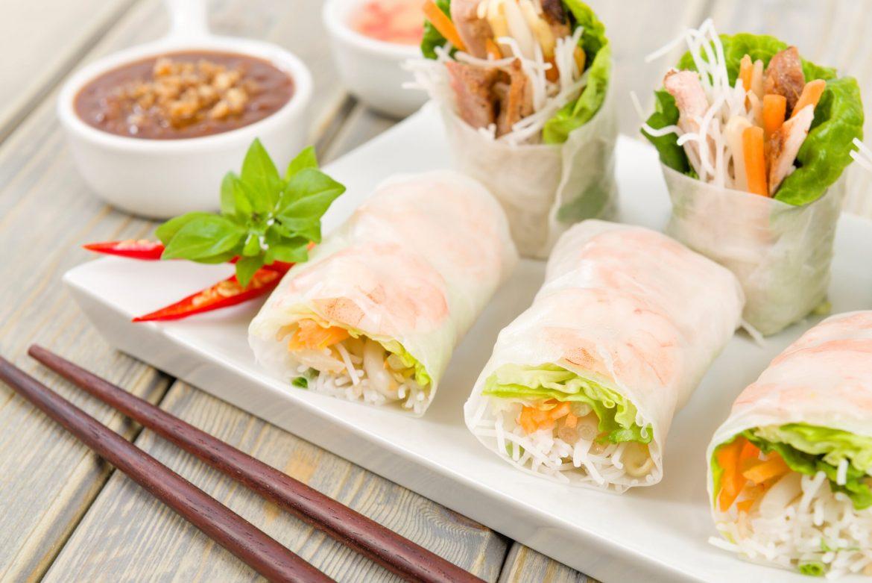 spring roll vietnamese cuisine