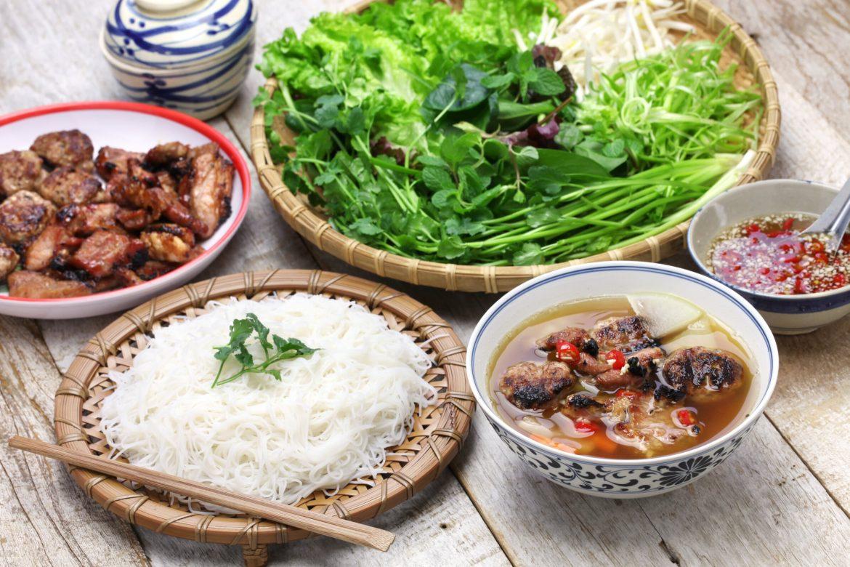 bun cha vietnamese cuisine