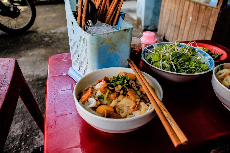 danang noodle vietnamese cuisine chopsticks