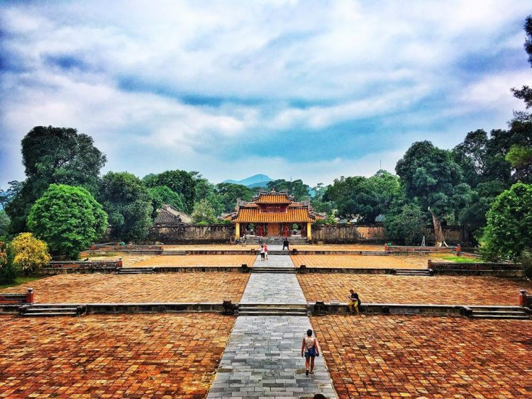 A JOURNEY TO THE PAST AT MINH MANG TOMB, HUE