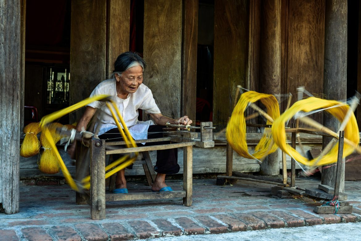 Van Phuc Village- Expedition to Vietnam handicraft