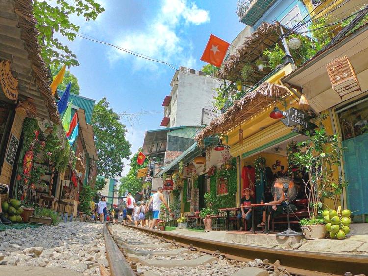 Hanoi's Train Street - Hard to find but definitely worth it!