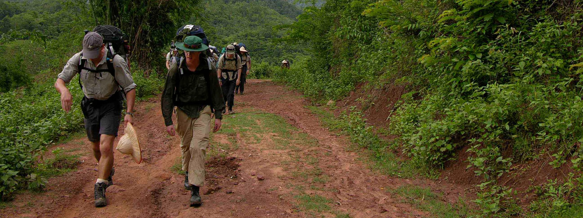 Trek on the bank of Ma River 4 days