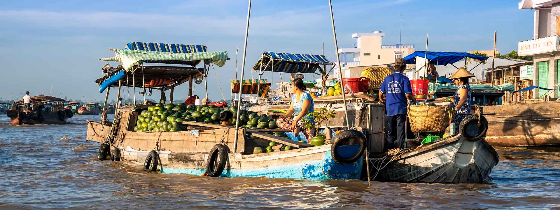 Mekong Delta Explorer and exit to Cambodia with Tcharokaa Cruise 3 Days