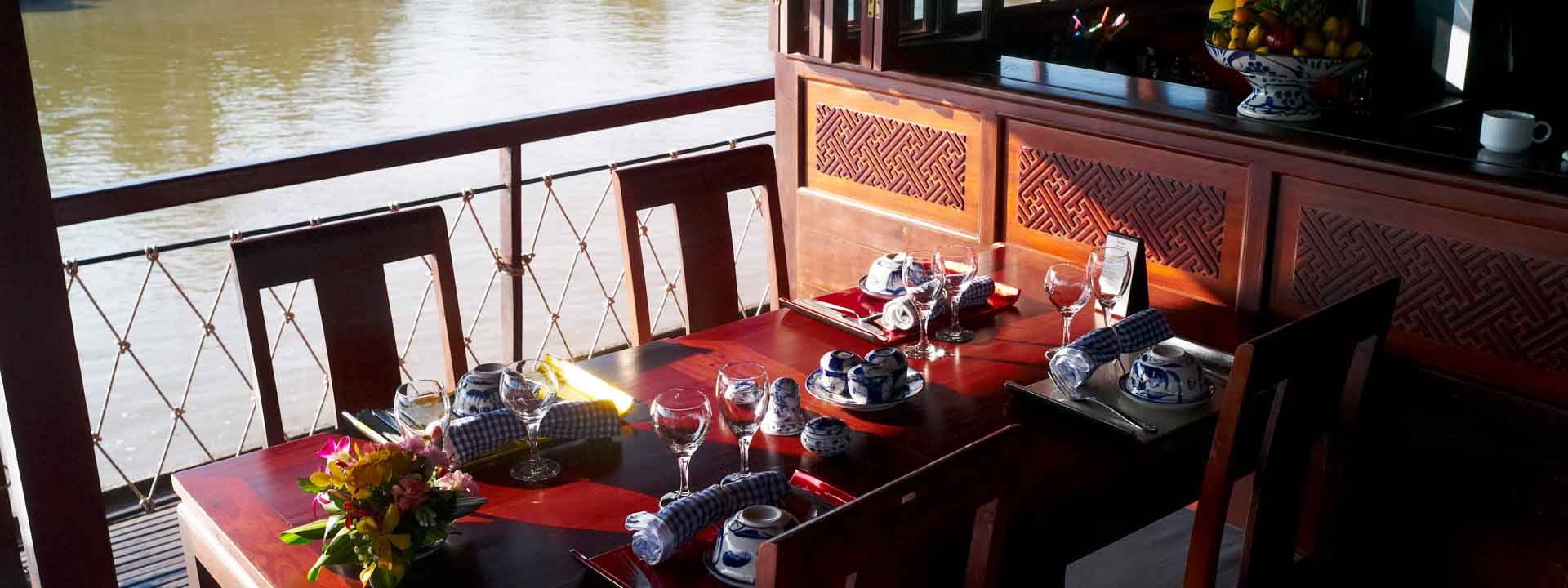 Mekong at a Glimpse on Cai Be Princess