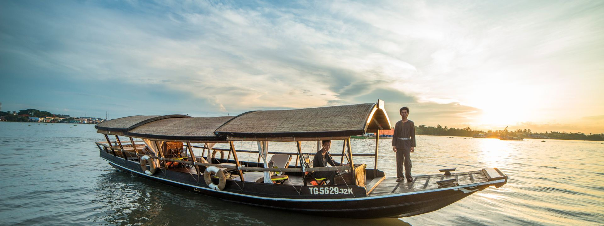 Scenic Victoria Boat Cruise Mekong 4 days