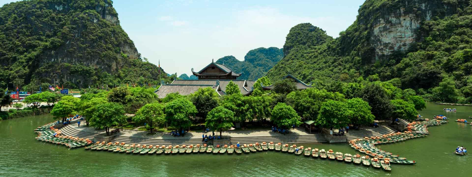 Hoa Lu Ancient Capital and Van Long Ecotourism Site